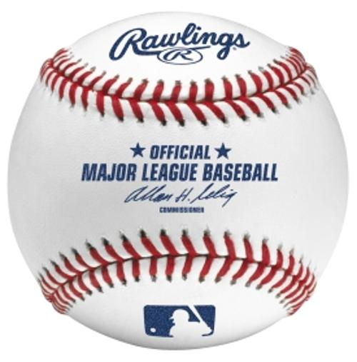 MLB Official Game Baseball by Rawlings in Million Dollar Arm