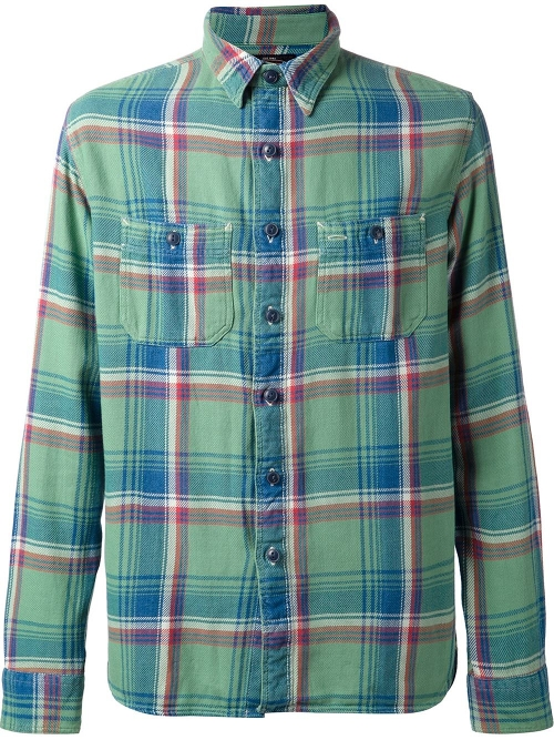 Plaid Shirt by RRL in The Best of Me