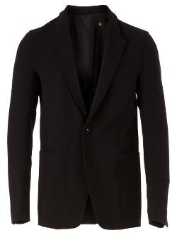 Deconstructed Blazer by Rick Owens in Savages