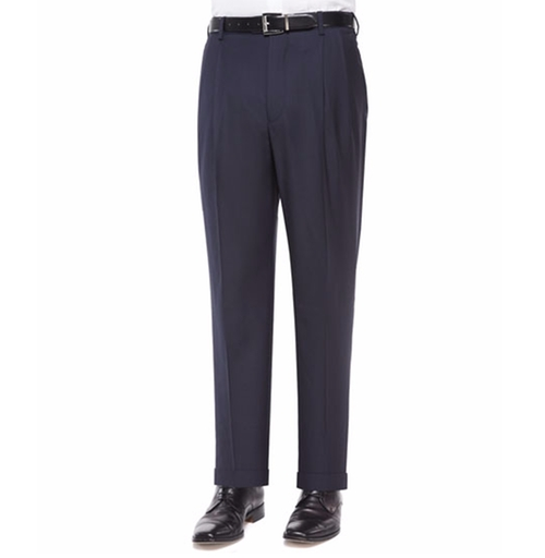 Bennett Pleated Super 150's Trousers by Zanella in Fantastic Beasts and Where to Find Them