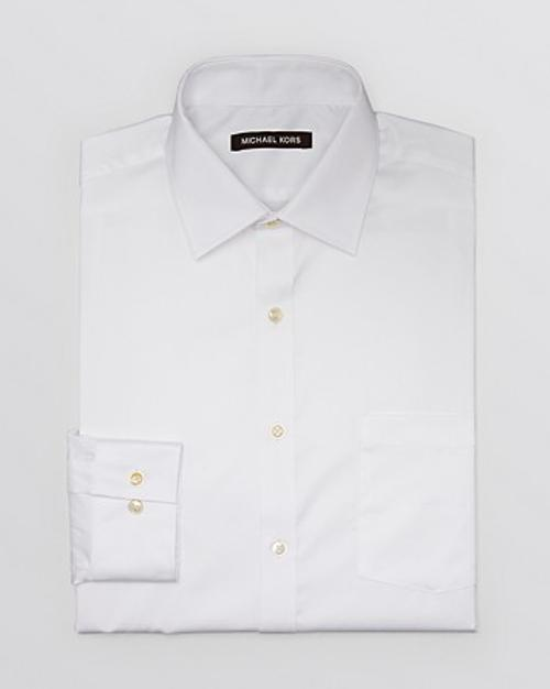 Solid Dress Shirt by Michael Kors in Mortdecai