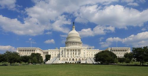 United States Capitol Washington, D.C. in Batman v Superman: Dawn of Justice