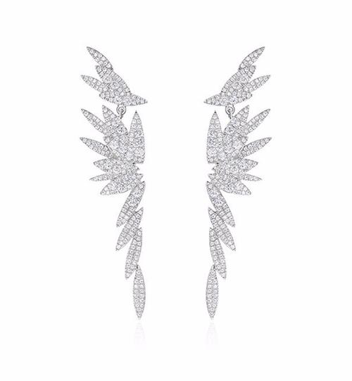 Bamboo Long Stud Earrings by AS29  in The Bachelorette - Season 12 Looks
