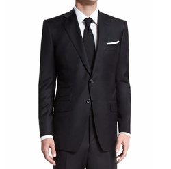 O'Connor Base Solid Two-Piece Wool Master Twill Suit by Tom Ford in Designated Survivor