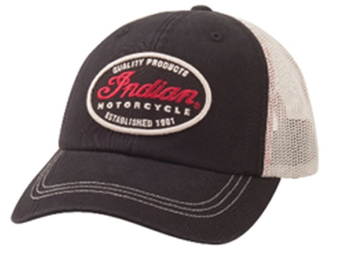 Quality Trucker Cap by INDIAN MOTORCYCLE in Transformers: Age of Extinction