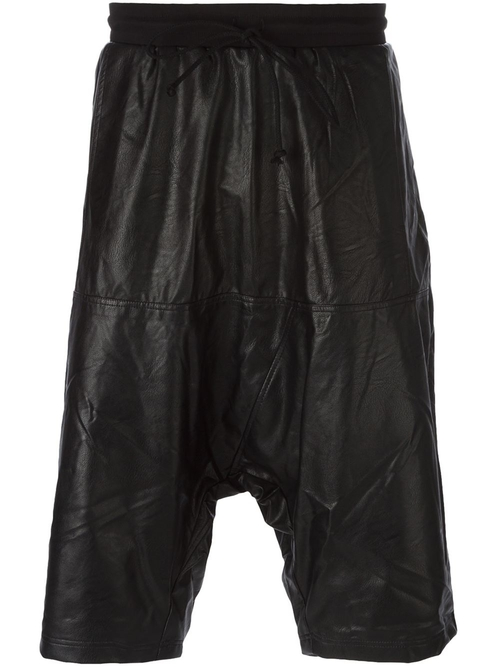 Faux Leather Drop Crotch Shorts by Lost And Found Rooms in Empire - Season 2 Episode 2