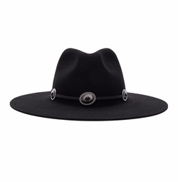 Cedar Fedora Hat by Brixton in A Bad Moms Christmas