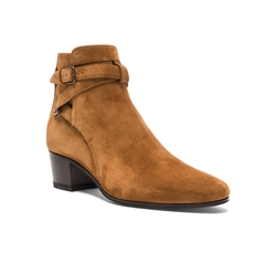 Suede Blake Boots by Saint Laurent in Keeping Up With The Kardashians