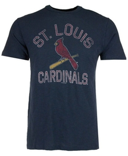 Men's St. Louis Cardinals Scrum T-Shirt by '47 Brand in Gone Girl