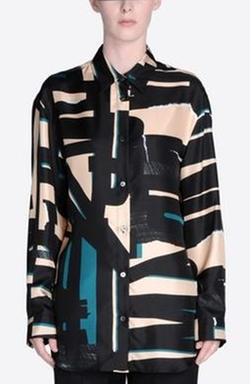 Printed Masculine Shirt by Maison Margiela in Empire