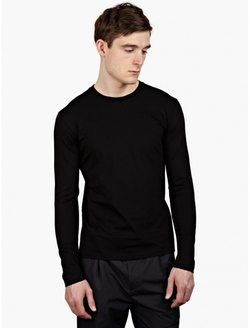 Long-Sleeved Cotton T-Shirt by Jil Sander in Point Break