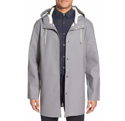 Stockholm Waterproof Hooded Raincoat by Stutterheim in Power