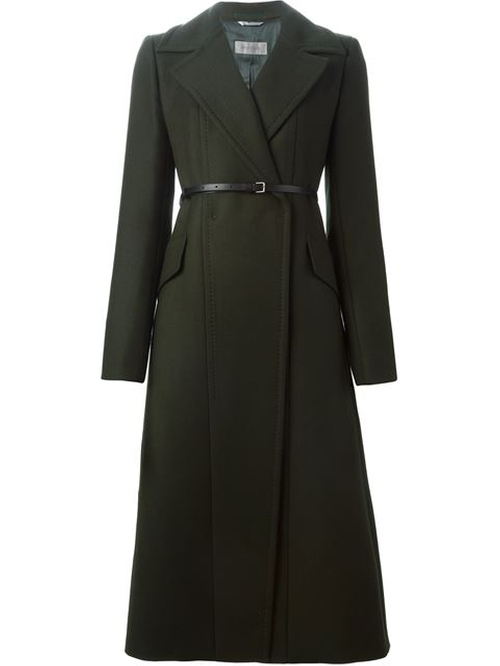 Long Belted Coat by Sportmax in How To Get Away With Murder - Season 2 Episode 6
