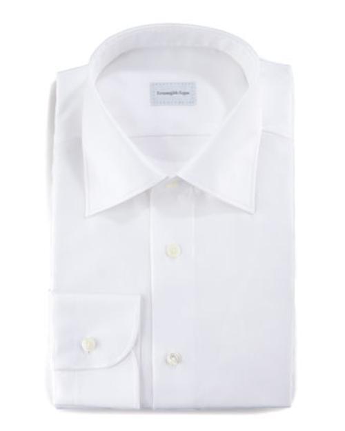Twill Dress Shirt by Ermenegildo Zegna in Kingsman: The Secret Service