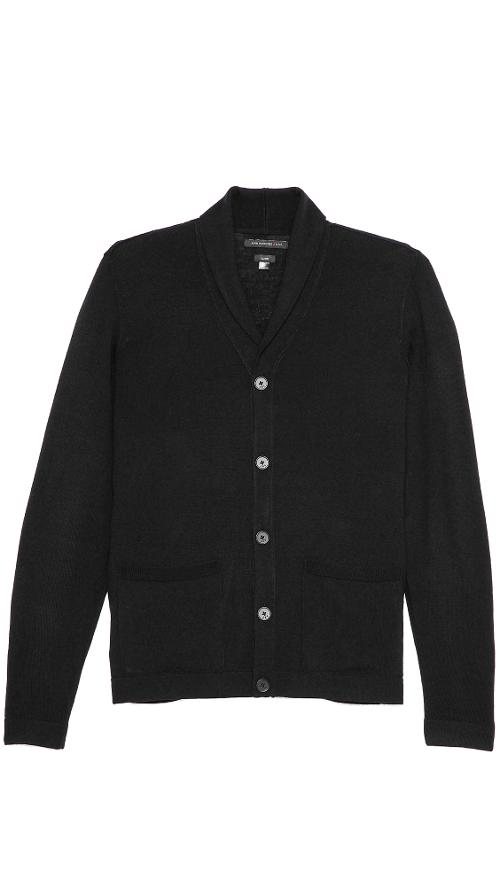 Shawl Collar Cardigan by John Varvatos Star USA in Jersey Boys
