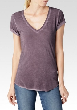 Charlie Vintage Velvet Tee by Paige Denim in New Girl