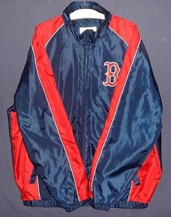 Boston Red Sox Zip Up Spring Jacket by MLB Genuine Merchandise in The Town