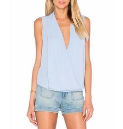 Monroe Surplice Top by Three Eighty Two in Fuller House