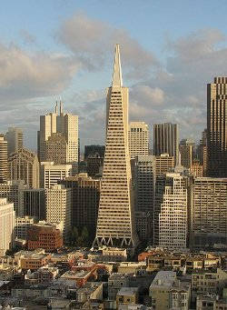 San Francisco, California by Transamerica Pyramid in Need for Speed