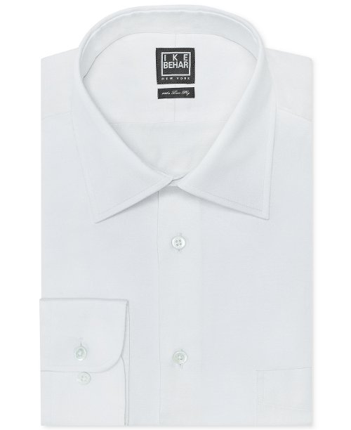 Solid Dress Shirt by Ike Behar in Top Five