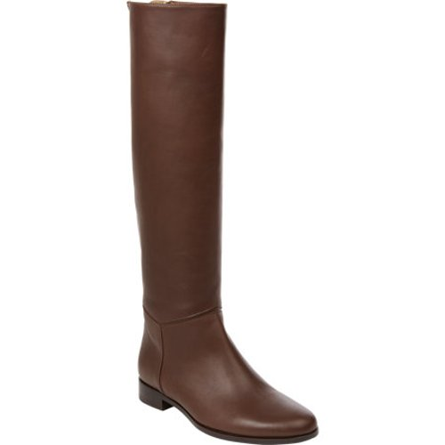 Back-Zip Knee Boots by Lanvin in The American