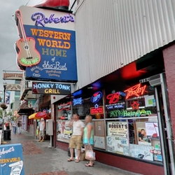Nashville, Tennessee by Robert's Western World in Master of None