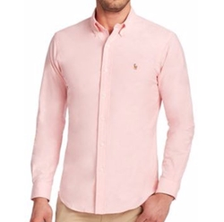 Slim-Fit Stretch Oxford Sportshirt by Polo Ralph Lauren in The Good Place