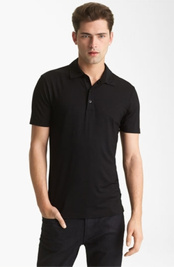 Trim Fit Polo Shirt by Armani Collezioni in Ballers