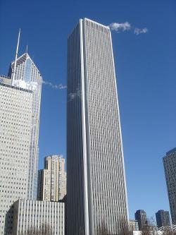 Chicago, Illinois by Aon Center (Chicago) in Jupiter Ascending