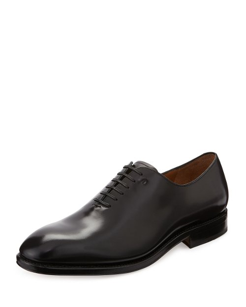 Carmelo Tramezza Oxford Shoes by Salvatore Ferragamo in John Wick