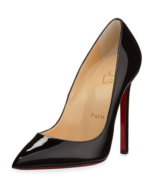 Pigalle Patent Leather Red Sole Pump by Christian Louboutin in Need for Speed