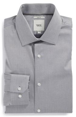 Trim Fit Stretch Twill Dress Shirt by W.R.K in Mr. & Mrs. Smith