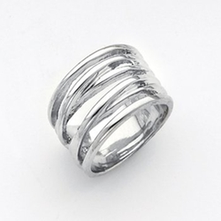 Multi Row Band Ring by Jewels Obsession in Urge