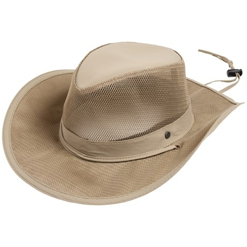 Mesh Safari Hat by Stetson in Mean Girls