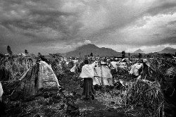 Displaced People in Goma, Congo by Marcus Bleasdale in The Secret Life of Walter Mitty