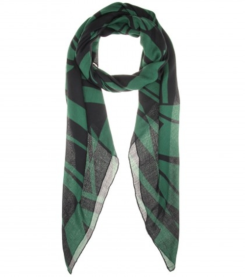 Printed Scarf by Bottega Veneta in That Awkward Moment