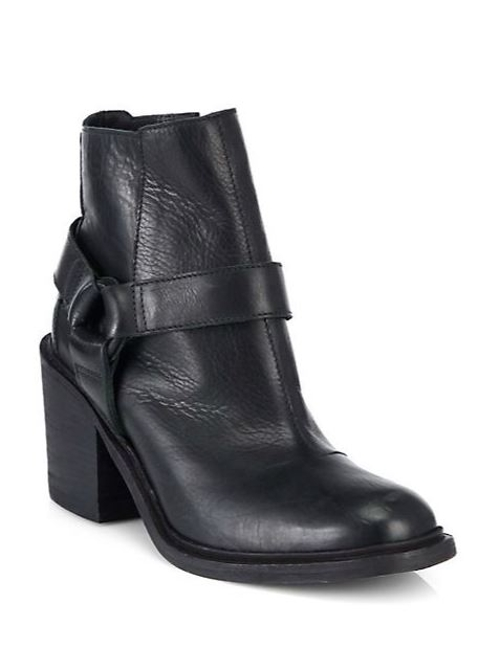 Face Leather Ankle Boots by LD Tuttle in Magic Mike XXL