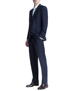 Basic Two-Button Suit by Boss Hugo Boss in New Girl