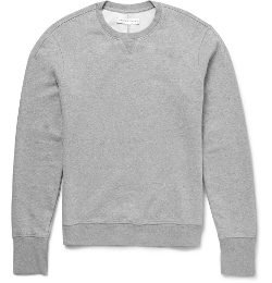 Dudley Loopback Cotton-Jersey Sweatshirt by Orlebar Brown in Before I Wake