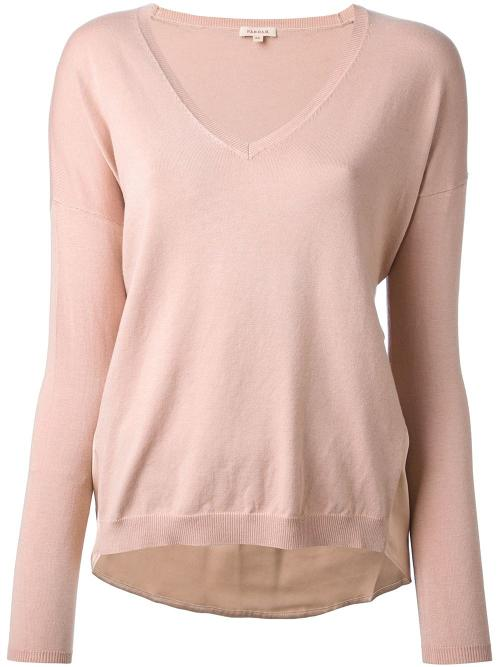 Stelline V-neck Sweater by P.A.R.O.S.H. in The Other Woman