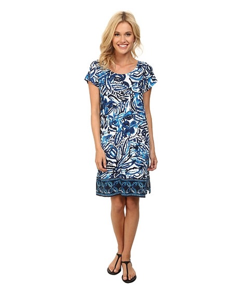 Batik Garden Dress by Lucky Brand in Pretty Little Liars - Season 6 Episode 10