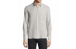 Stitch-Pattern Button-Front Shirt by Billy Reid in Empire