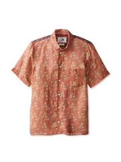Pattern Colorblock Short Sleeve Shirt by Marc Jacobs in Forgetting Sarah Marshall