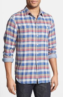 Flying Lotus' Plaid Woven Shirt by Howe in Project Almanac