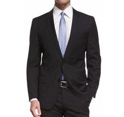 Huge Genius Slim-Fit Basic Suit by Boss in Molly's Game