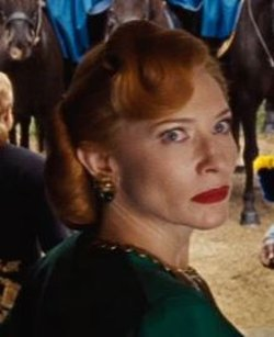 Custom Made Statement Drop Earrings (Lady Tremaine) by Sandy Powell (Costume Designer) in Cinderella
