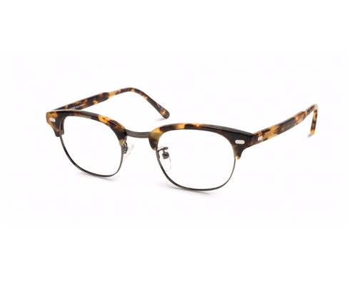 Yukel Classic Havana Glasses by Moscot in Criminal