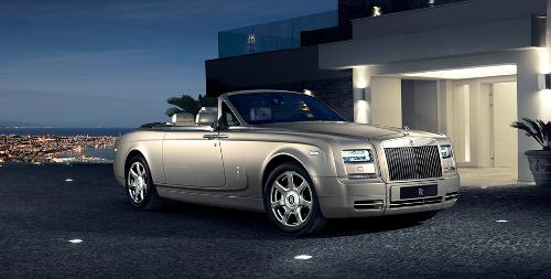 Phantom Drophead Coupe by Rolls Royce in Mortdecai