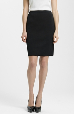 Knit Pencil Skirt by Ming Wang in Suits