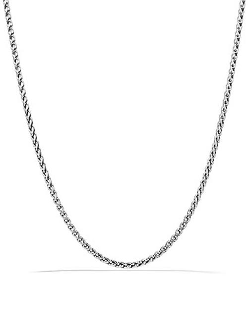 Small Wheat Chain Necklace by David Yurman in The Other Woman